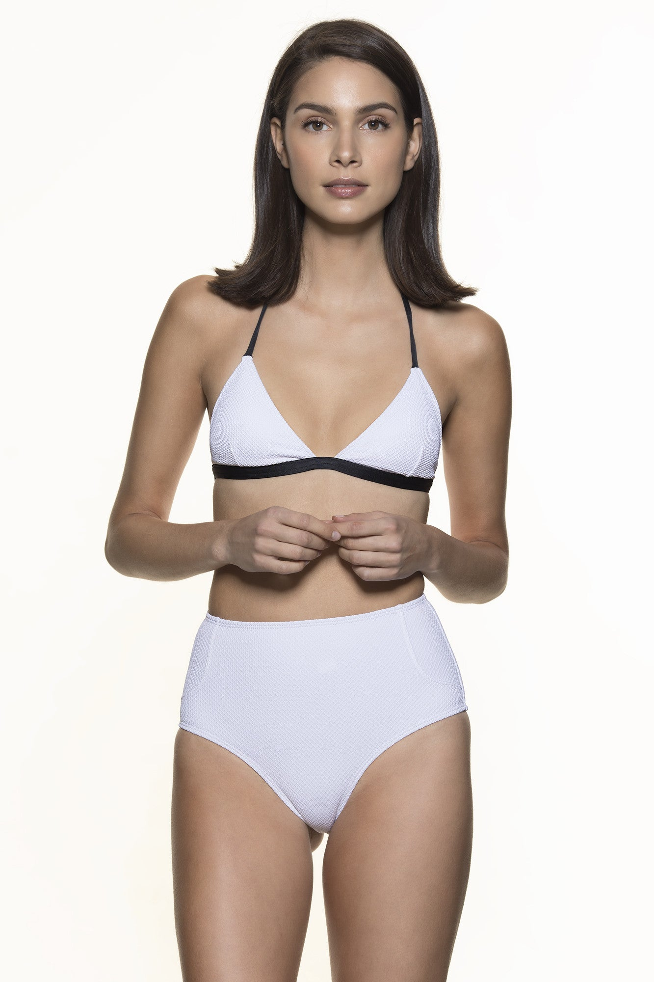 Bottom Nice Piquet - White