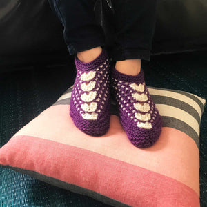 Bootie: Purple