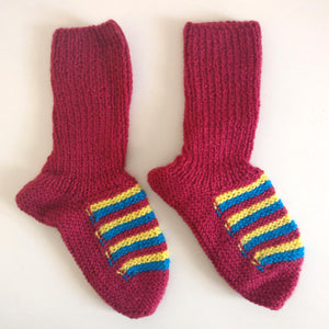 Long Socks: Magenta