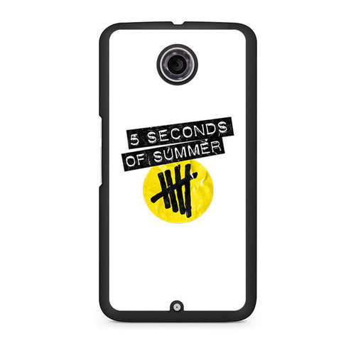 5 Seconds Of Summer Nexus 6 Case