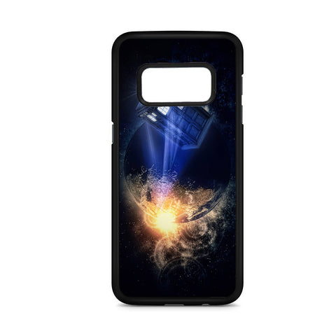 Atmosphere Police Box Samsung Galaxy S8 Case
