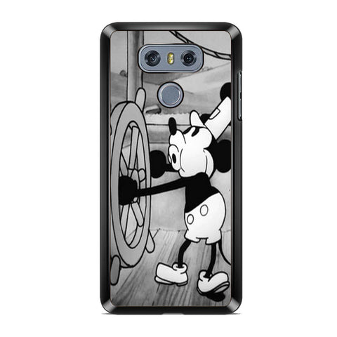 Mickey Mouse Steam Boat Willie Vintage LG G6