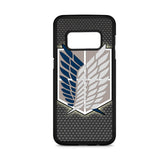Attack Of Titans Scouting Legion Logo Samsung Galaxy S8 Case