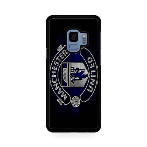 Dark Manchester United Logo Samsung Galaxy S9 Case