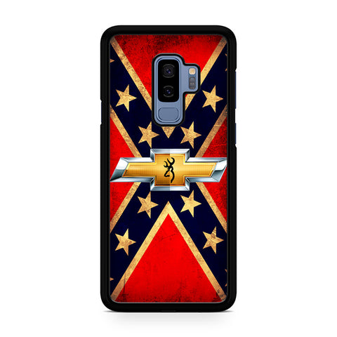 Rebel Flag Browning Samsung Galaxy S9 Plus Case