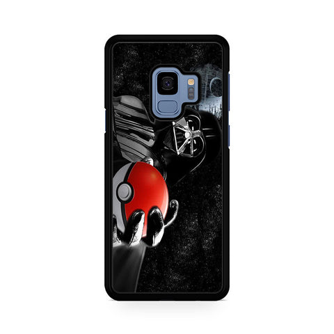 Darth Vader Star Wars And Pokemon Ball Samsung Galaxy S9 Case