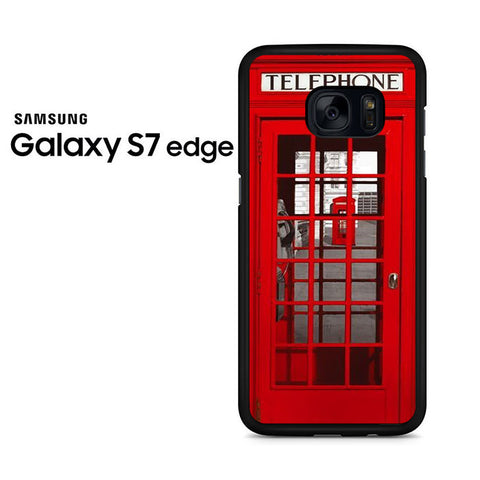 London Telephone Booth Samsung Galaxy S7 Edge Case