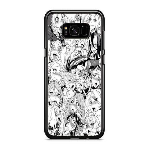 Ahegao Face Girls college Samsung Galaxy S8 Plus Case