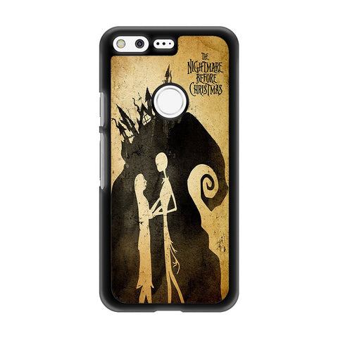 Tim Burton Nightmare Before Christmas Google Pixel