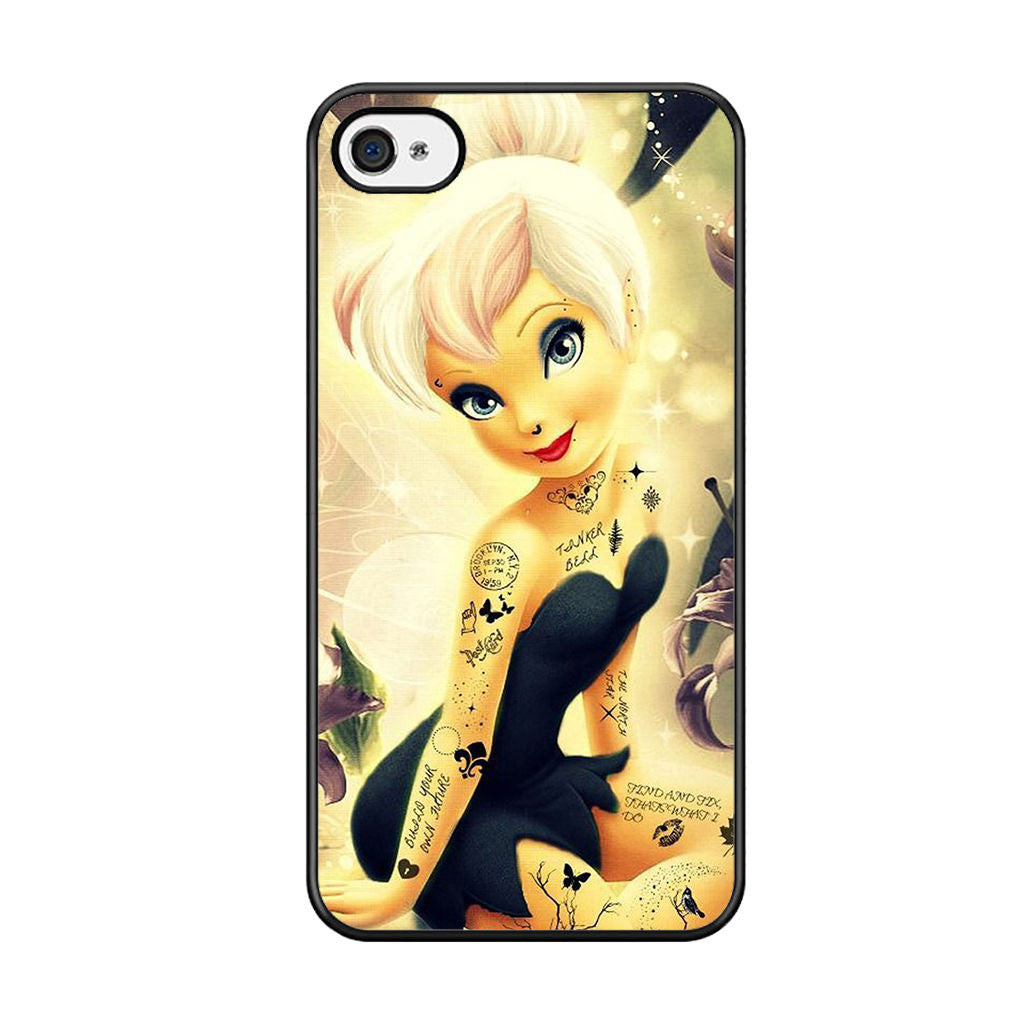 Tinkerbell tattoo iphone 5 iphone 5s iphone se case comerch for Tattoo artist iphone cases