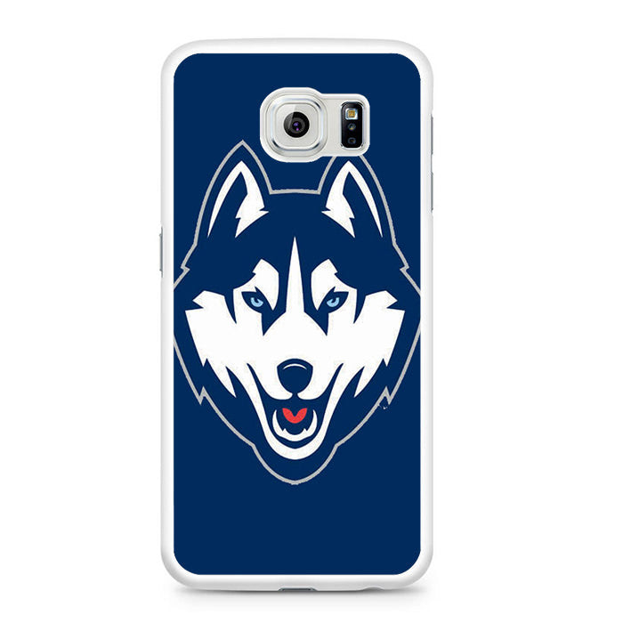 iphone 6 phone uconn baseball logo blue samsung galaxy s6 comerch 11374