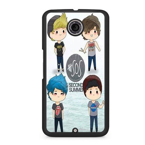 5 Seconds Of Summer 5sos Nexus 6 Case