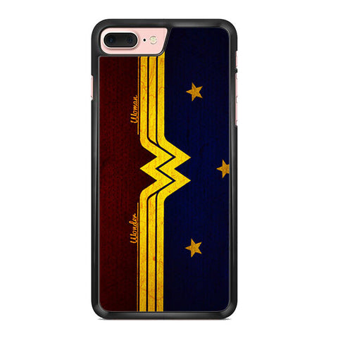 Wonder Woman Red Blue Logo Iphone 7 Plus Case