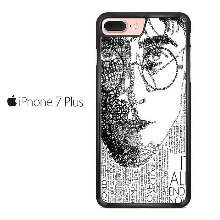 Harry Potter Face Quotes Iphone 7 Plus Case \u2013 Comerch
