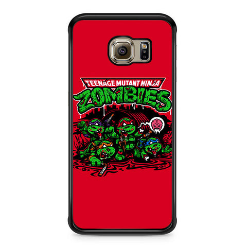 Zombie Ninja Turtles Samsung Galaxy S6 Edge Case