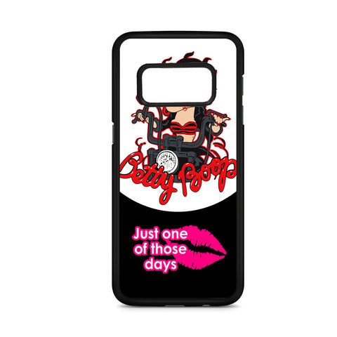 Betty Boop Biker Samsung Galaxy S8 Case