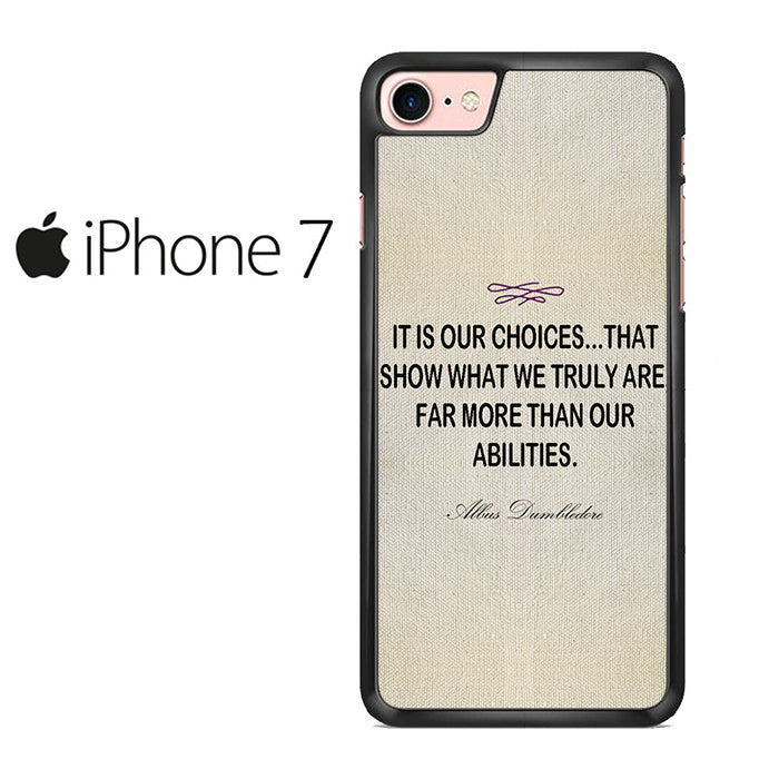 Harry Potter Albus Dumbledore Quote Iphone 7 Case \u2013 Comerch