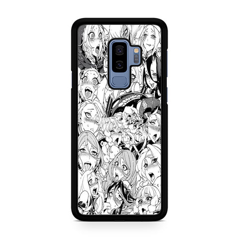 Ahegao Pervert Girls Manga Samsung Galaxy S9 Plus Case