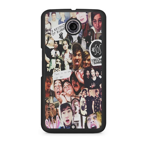 5 Seconds Of Summer Collage Nexus 6 Case