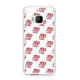 100 Pattern HTC One M9 Case