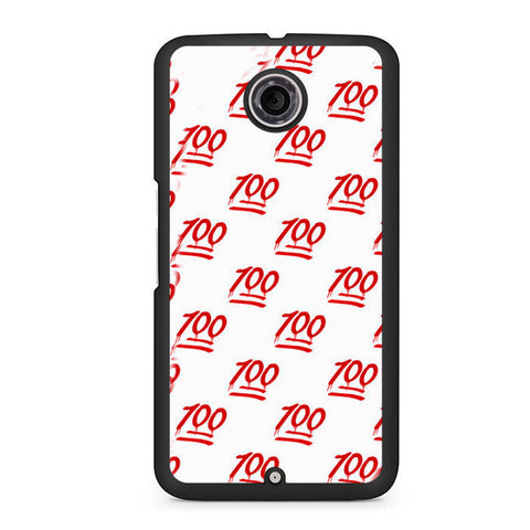 100 Pattern Nexus 6 Case