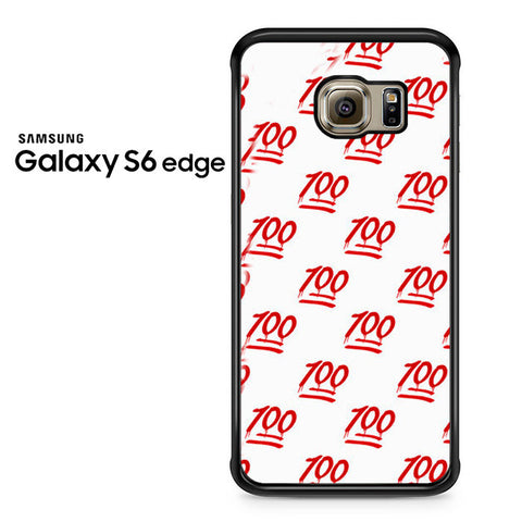 100 Pattern Samsung Galaxy S6 Edge Case
