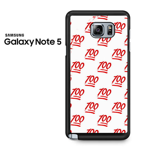100 Pattern Samsung Galaxy Note 5 Case