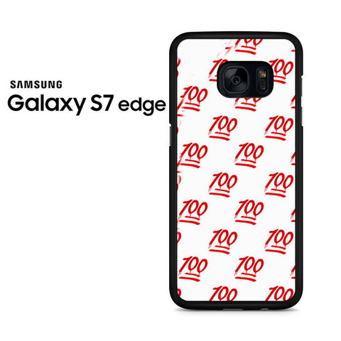 100 Pattern Samsung Galaxy S7 Edge Case