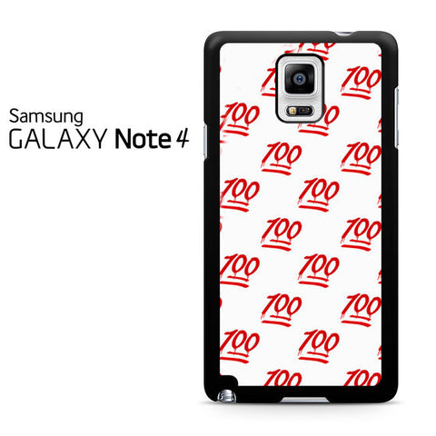 100 Pattern Samsung Galaxy Note 4 Case