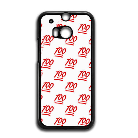 100 Pattern HTC One M8 Case