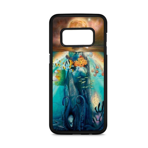 Mermaid And The Moon Art Samsung Galaxy S8 Case
