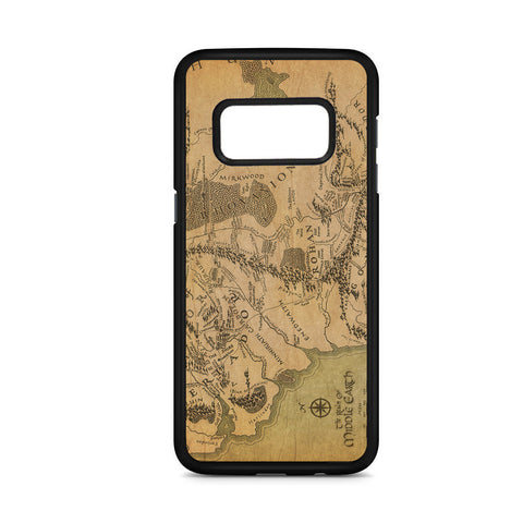 Lord Of The Rings Middle Earth Map Samsung Galaxy S8 Case