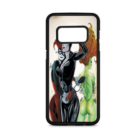 Harley Quinn Catwoman And Poison Ivy Samsung Galaxy S8 Case