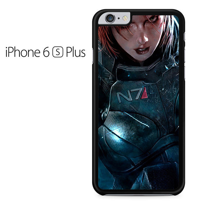 mass effect 4 shepard iphone 6 plus iphone 6s plus case comerch. Black Bedroom Furniture Sets. Home Design Ideas