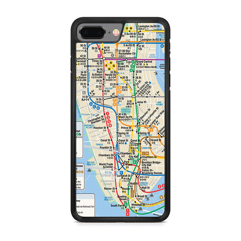 Nyc Subway Map Iphone 8 Plus Case