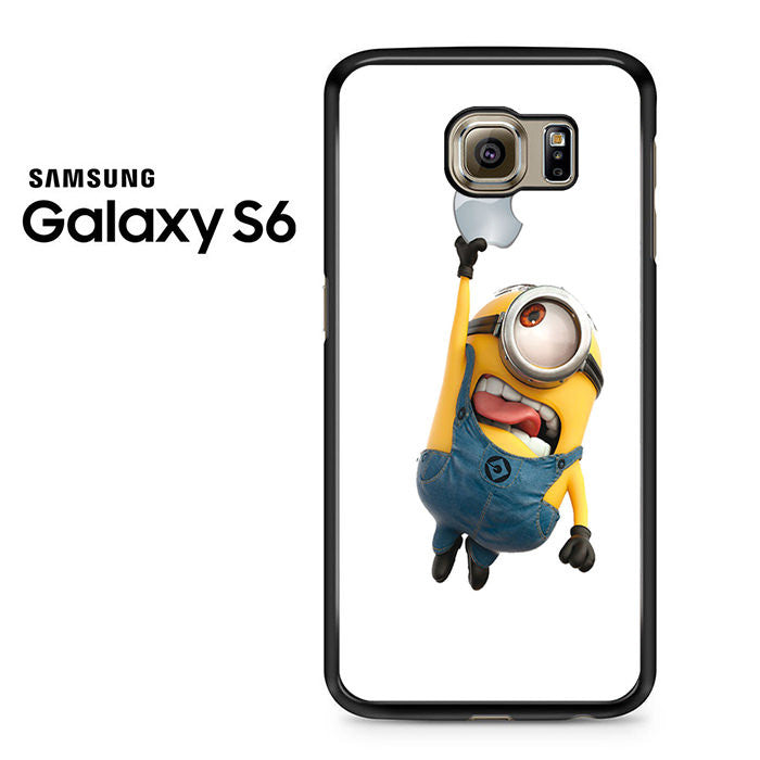 outlet store 8f440 1d828 Minion Catch Apple Samsung Galaxy S6 Case
