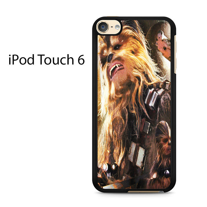 best sneakers 1adf0 d7b35 Chewbacca Star Wars Ipod Touch 6 Case