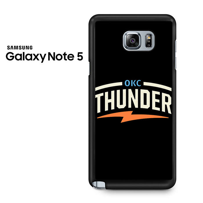 City Oklahoma City Thunder Samsung Galaxy Note 5 Case