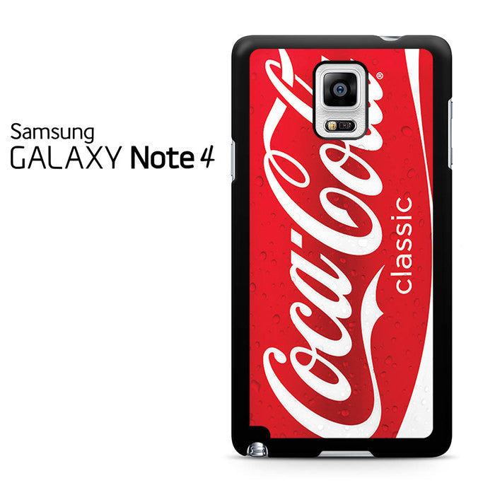 Salt Lamps Exploding : Coca Cola Red Can Samsung Galaxy Note 4 Case Comerch