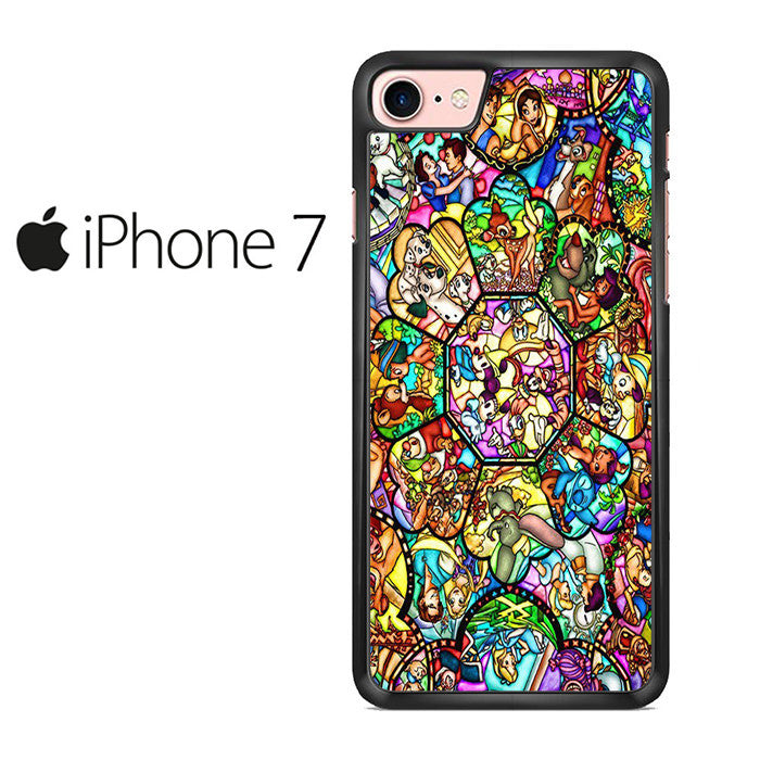 timeless design 59774 7105e All Disney Stained Glass Iphone 7 Case