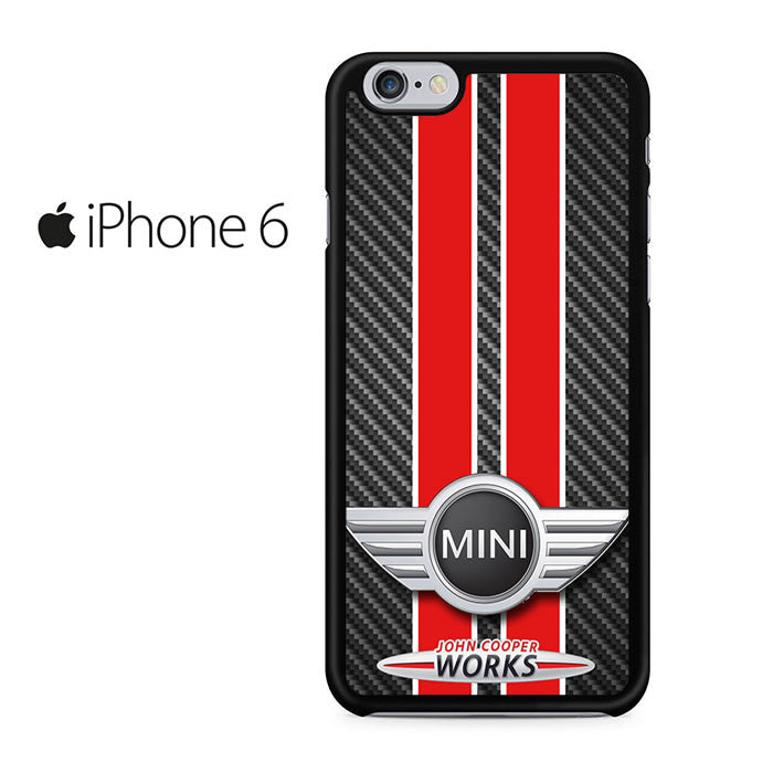mini john cooper works iphone 6 iphone 6s case comerch. Black Bedroom Furniture Sets. Home Design Ideas