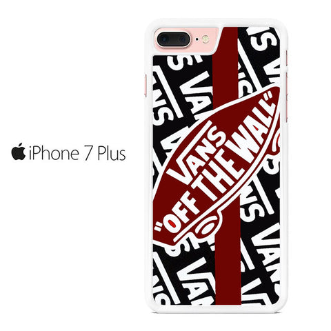 online store 3dfe5 f8c1b Vans Off The Wall Skate Shoes Iphone 7 Plus Case