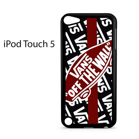 Vans Off The Wall Skate Shoes Ipod Touch 5 Case