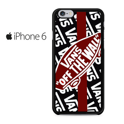 Vans Off The Wall Skate Shoes Iphone 6 Iphone 6S Case