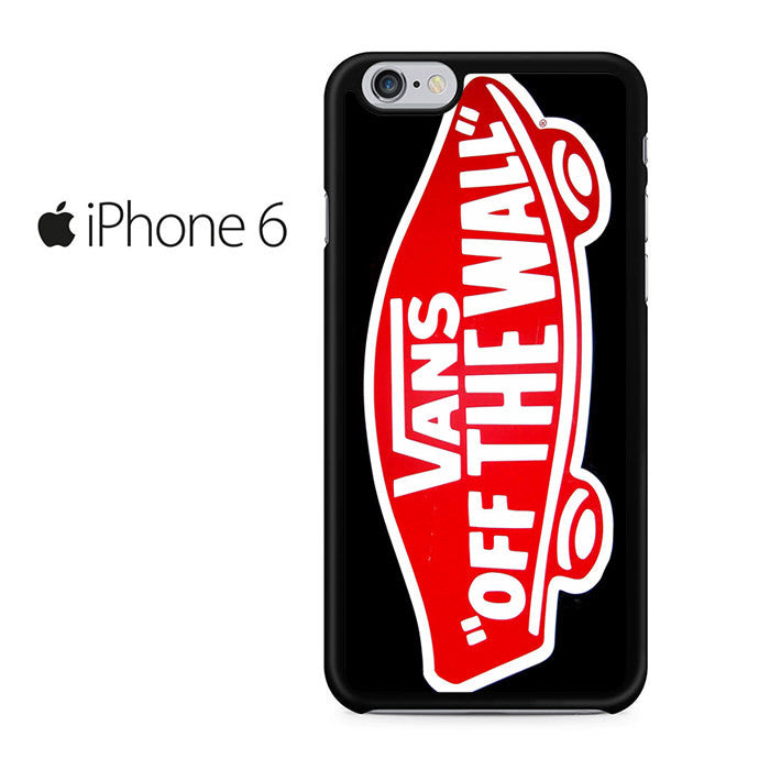 on sale 9be35 50f69 Vans Logo Off The Wall Iphone 6 Iphone 6S Case