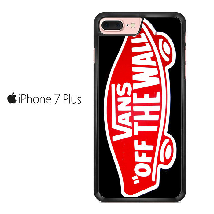 newest collection 22b24 849d4 Vans Logo Off The Wall Iphone 7 Plus Case