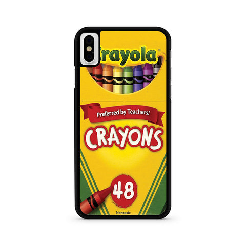 Crayola Crayons Iphone X Case