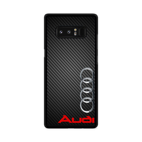 Audi Car Logo Samsung Galaxy Note 8 Case