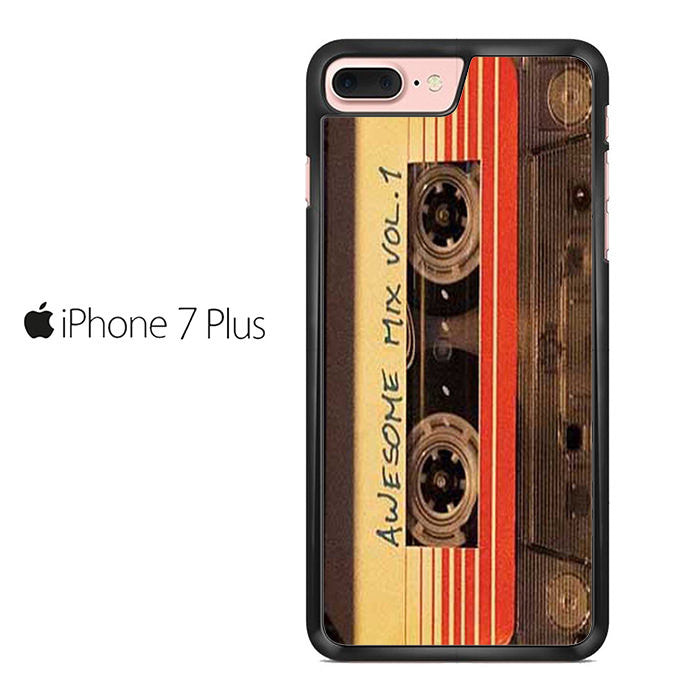 half off 9f327 72121 Awesome Mix Vol 1 Original Soundtrack Guardians Of Galaxy Iphone 7 Plus Case