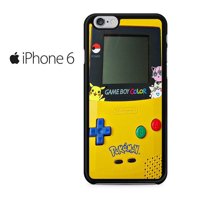 best website 57821 4b7f7 Gameboy Color Pokemon Iphone 6 Iphone 6S Case